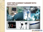 joint replacement surgery with orthopilot