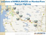 locations of ambulances on mumbai pune express