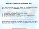 reliable and friendly move out cleaning parharn 1