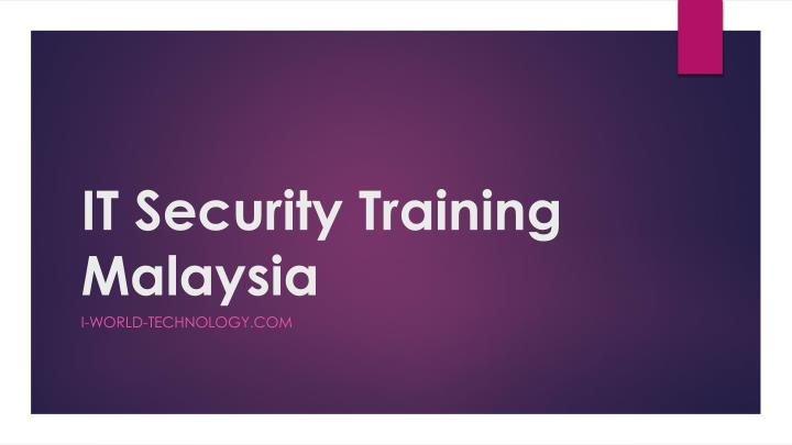 it security training malaysia n.