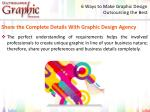 6 ways to make graphic design outsourcing the best 3