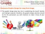 6 ways to make graphic design outsourcing the best 6