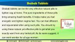 shabab tablets can be the very effective natural