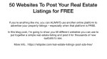 50 websites to post your real estate listings