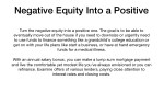 negative equity into a positive