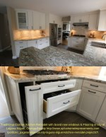 traditional custom kitchen remodel with brand