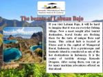 the beauty of labuan bajo
