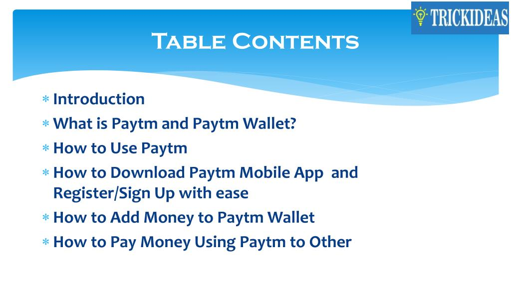 PPT - Paytm: How to Use Paytm to Make Payments PowerPoint