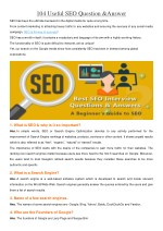104 useful seo question answer
