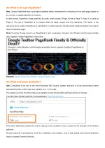 48 what is google pagerank