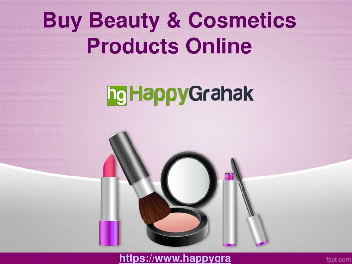 PPT - Buy Best Quality Beauty Products Online PowerPoint