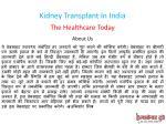 kidney transplant in india 1