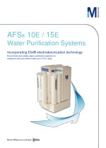 afs 10 e 15 e water purification systems