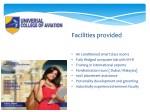 facilities provided