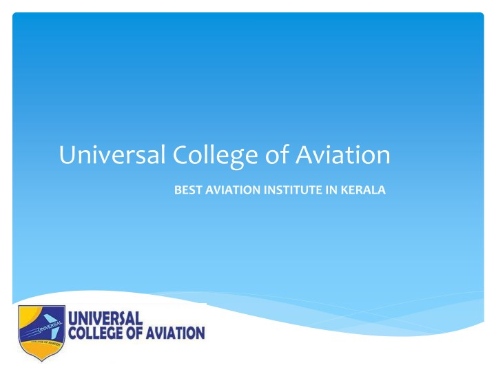 universal college of aviation n.