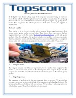 choosing electronic board manufacturers