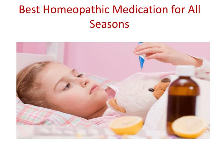 best homeopathic medication for all seasons n.