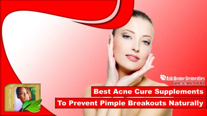 best acne cure supplements n.