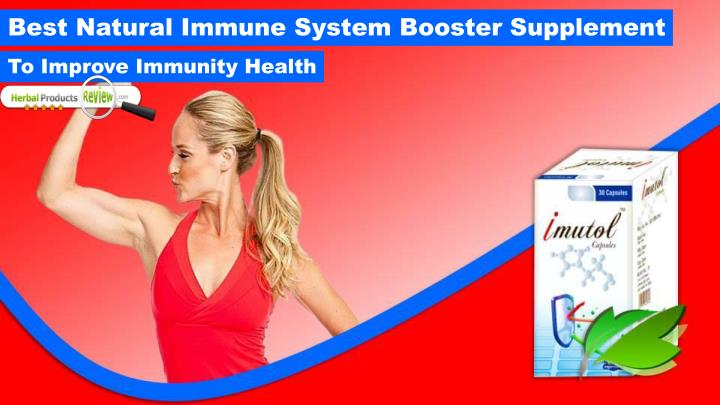 best natural immune system booster supplement n.