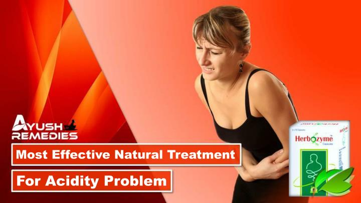 most effective natural treatment n.