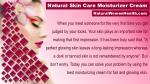 natural skin care moisturizer cream 1