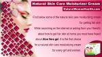 natural skin care moisturizer cream 5