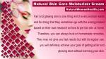 natural skin care moisturizer cream 9