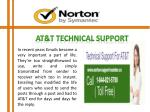 at t technical support