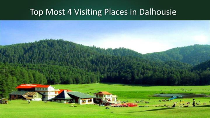 top most 4 visiting places in dalhousie n.