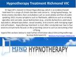 hypnotherapy treatment richmond vic