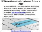 william almonte recruitment trends in 2018 6