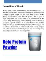 keto protein powder 1