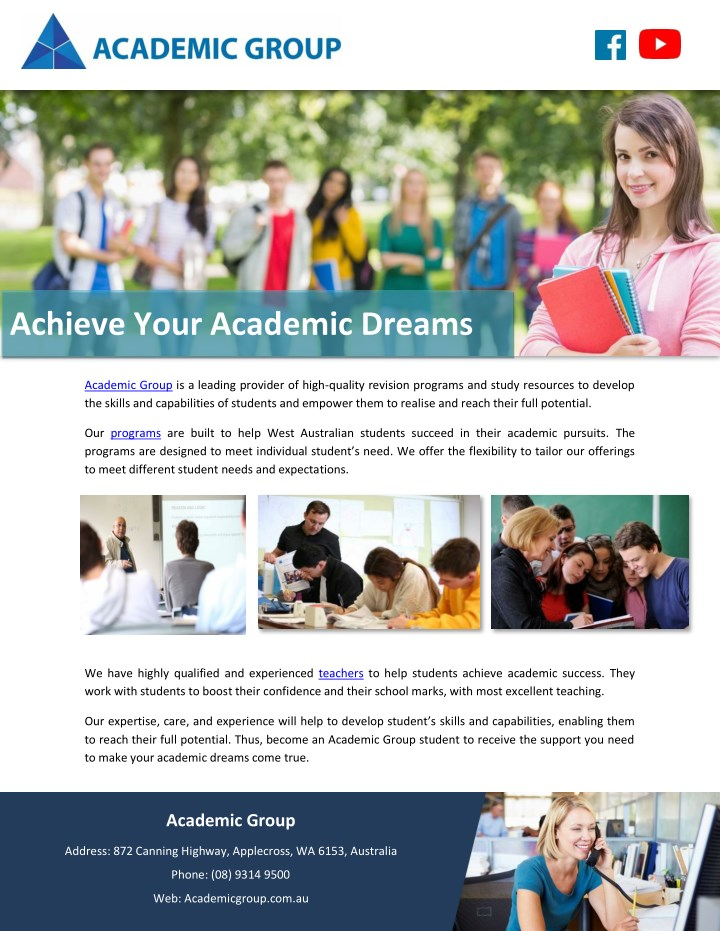 achieve your academic dreams n.