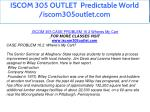 iscom 305 outlet predictable world iscom305outlet 2