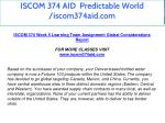 iscom 374 aid predictable world iscom374aid com 18