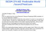 iscom 374 aid predictable world iscom374aid com 6