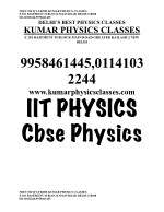 neet mcq s from kumar physics classes 2
