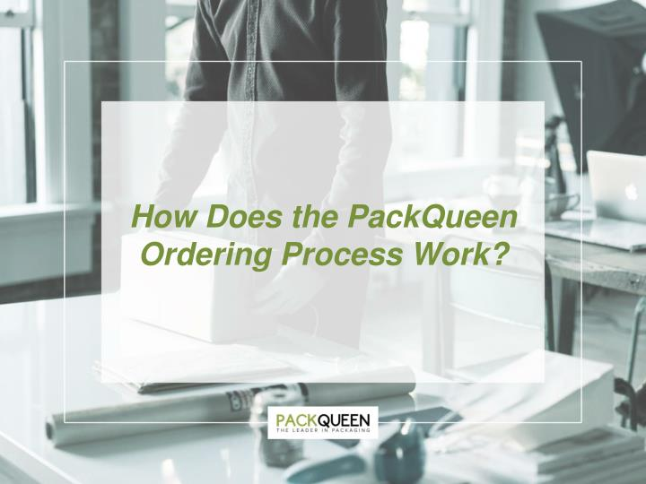 how does the packqueen ordering process work n.