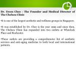 dr ewen chee the founder and medical director