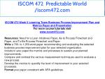 iscom 472 predictable world iscom472 com 24