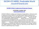iscom 472 nerd predictable world iscom472nerd com 23