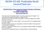 iscom 473 aid predictable world iscom473aid com 14