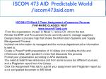 iscom 473 aid predictable world iscom473aid com 16