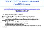 law 421 tutor predictable world law421tutor com 19