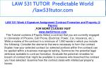 law 531 tutor predictable world law531tutor com 24