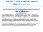 law 531 tutor predictable world law531tutor com 28