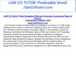 law 531 tutor predictable world law531tutor com 29