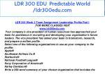 ldr 300 edu predictable world ldr300edu com 10