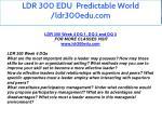 ldr 300 edu predictable world ldr300edu com 16