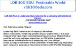 ldr 300 edu predictable world ldr300edu com 18